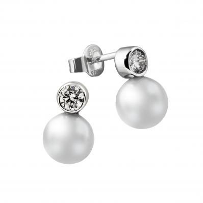 Diamonfire Innocence Pearl Earrings