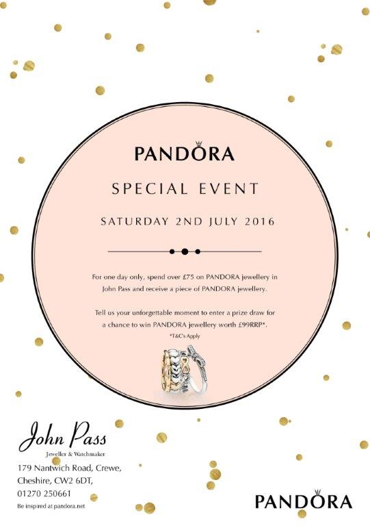 Pandora Gold Event