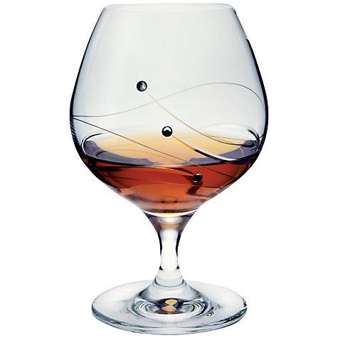 Dartington Glitz Brandy Glasses