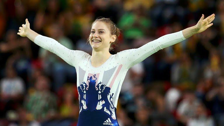 Bryony Page Rio 2016 Olympics