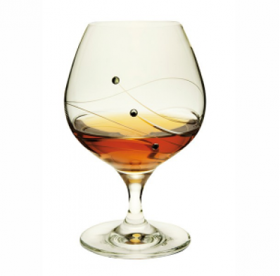 Dartington Glitz Brandy Glasses