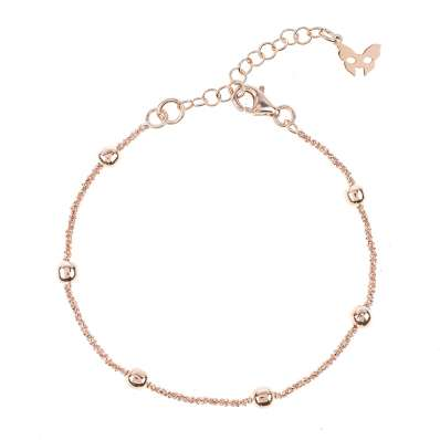 Vamp Chic Rio Ruthenium Beaded Bracelet