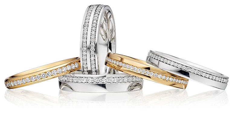 Diamond Set Rings