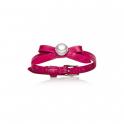 Jersey Pearl Joli D Or Framboise Bracelet