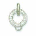 thomas sabo channel set charm carrier