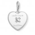 Thomas Sabo Charm Pendant Heart Coin 1485-001-21