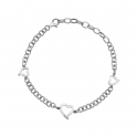 Hot Diamonds Romantic Sterling Silver Bracelet - DL564