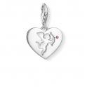 Thomas Sabo Charm Club Heart with Cupid Charm Pendant 1382-011-10