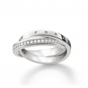 Thomas Sabo Together Forever Ring Size 58 TR2099-051-14