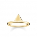 Thomas Sabo Sterling Silver Glam and Soul Triangle Ring TR2126-413-12-54