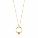 Ania Haie Modern Circle Necklace N002-01G