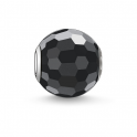 Thomas Sabo KARMA black faceted bead K0003-023-11