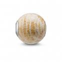 Thomas Sabo Karma daisy jasper bead K0046-014-16