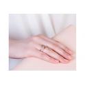 Clogau Silver & 9ct Rose Gold Origin Ring 3SENGTOL2
