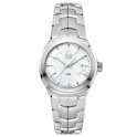 Tag Heuer Stainless Steel White MOP Dial Lady Link Watch WBC1310.BA0600