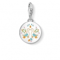 Thomas Sabo Charm Pendant Mexican Disc Doves 1434-007-21