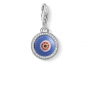 Thomas Sabo Charm Pendant Blue Glass Eye 1440-052-1