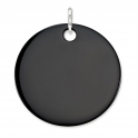 ​Thomas Sabo Large Black Onyx Disc Pendant PE531-024-11