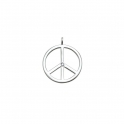 Thomas Sabo Silver Sweet Diamond Peace Sign PE0031-153-14