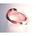 18ct Rose Gold Fancy Rose Quartz Ring