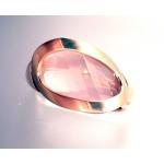 18ct Rose Gold Fancy Rose Quartz Ring