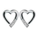 Hot Diamonds Romantic Sterling Silver Earrings