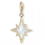 Thomas Sabo Charm Pendant Star Mother-of-Pearl 1539-429-14