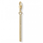 Thomas Sabo Charm Pendant Vertical Bar Gold 1577-414-14