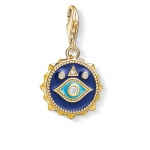 Thomas Sabo Charm Pendant Blue Nazar Eye 1663-565-32