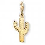 Thomas Sabo Charm Pendant Cactus Gold 1680-413-39
