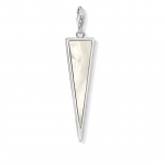 Thomas Sabo Charm Pendant Triangle Mother of Pear Y0025-029-14