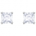 Swarovski Attract Stud Earrings White, Rhodium Plating 5430365