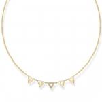 Thomas Sabo Sterling Silver Glam & Soul Necklace Triangle D_KE0009-924-14-L45