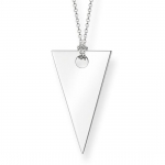 Thomas Sabo Sterling Silver Glam & Soul Triangle Necklace KE1541-001-12-L80