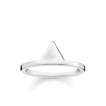 Thomas Sabo Sterling Silver Glam and Soul Triangle Ring TR2126-001-12-56