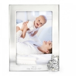 ​​D For Diamond  Silver Plated Picture Frame Y414
