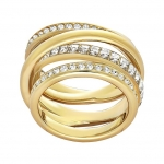 Swarovski Dynamic Gold Ring