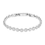 Swarovski Angelic Crystal Set Bracelet. White Rhodium Plated  5071173