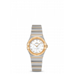 Constellation Manhattan Steel & Gold Mother-of-Pearl Diamond dot dial Quartz 25mm