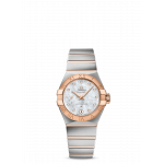 Constellation Steel and Sedna gold with Mother-of-Pearl Diamond dot dial 27mm Co-Axial