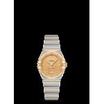 Constellation Manhattan Steel & Gold, Diamond dialQuartz 25mm