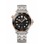 Omega Seamaster Diver 300M Steel and Sedna Gold 42MM
