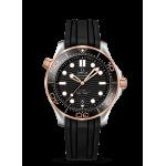 Omega Seamaster Diver 300M Black Dial 42mm Steel & Sedna gold