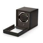 ​Wolf Est.1834 Cub Black Single Watch Winder with Cover 461103