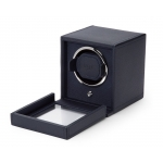 ​Wolf Est.1834 Cub Single Watch Winder with Cover Navy 461117