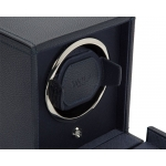 ​​Wolf Est.1834 Cub Single Watch Winder with Cover Navy 461117