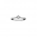 9ct White Gold Diamond Ring 01-01-616