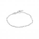 Ania Haie Helix Bracelet. Silver Rhodium Plated.  B012-03H
