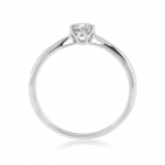 9ct White Gold Diamond Solitaire Ring 01-01-617