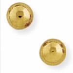 ball stud earrings 9ct Yellow Gold 6mm Ball Stud Earrings